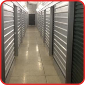 Hallway of the Indoor Storage Units
